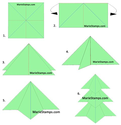 Stamping inspiration 25 days of christmas day 15 tea - Origami weihnachtsdeko ...