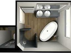 kleine badkamer inrichting ideeen - Google zoeken - Badkamer ...