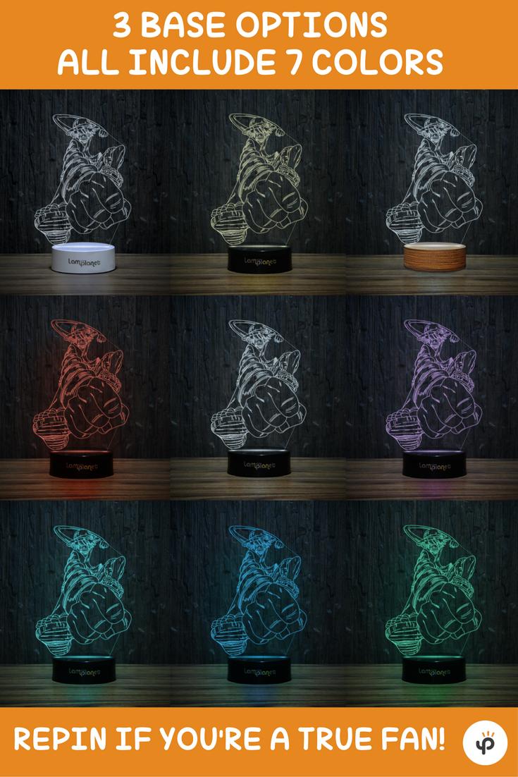 Monkey D. Luffy 3D-108 LED Illusion Lamp