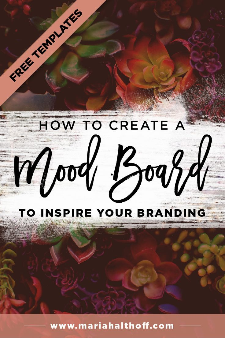 Step two of my branding design process is always to create a mood board. Mood boards create consistency, direction and narrow your focus when you're developing