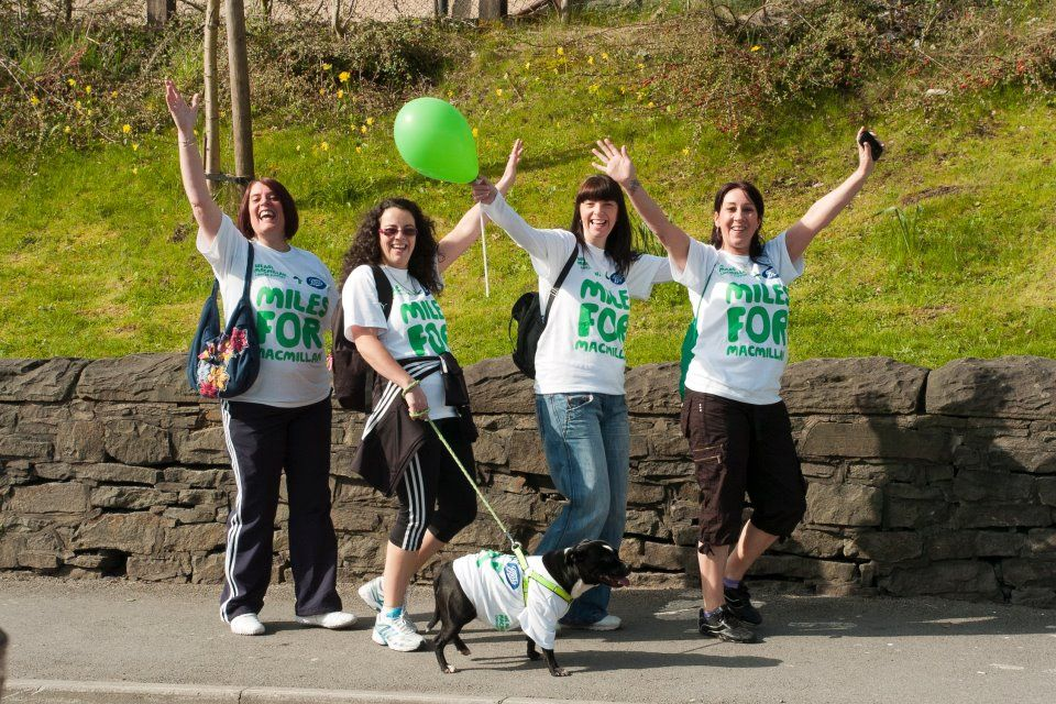 Some of the supporters on the Cynon Valley walk in 2011. Why not join them this year, the walk will be taking place on Saturday 3rd March 2012.