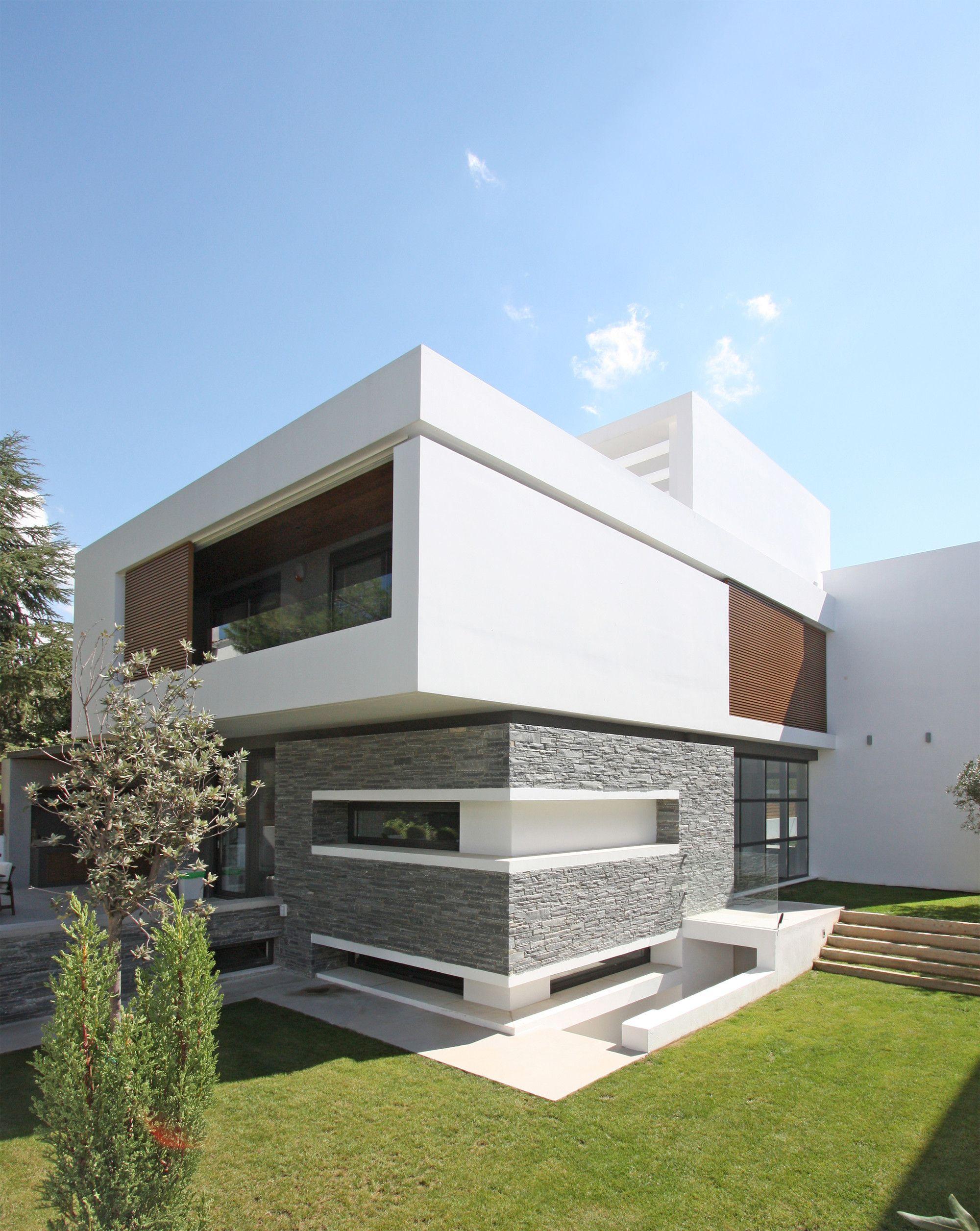 Gallery of 2 houses in panorama office twentyfive architects 5 en 2019 casas casas - Arquitectura casas modernas ...