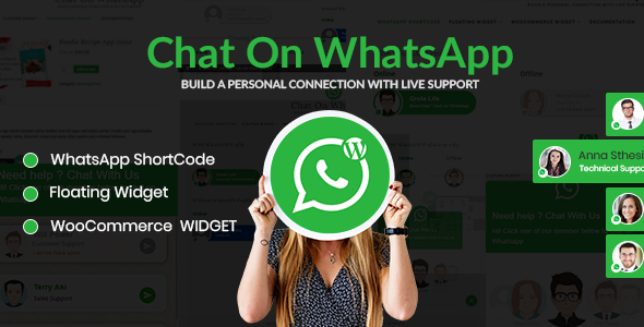 Speak on WhatsApp – WhatsApp discussion Plugin for WordPress