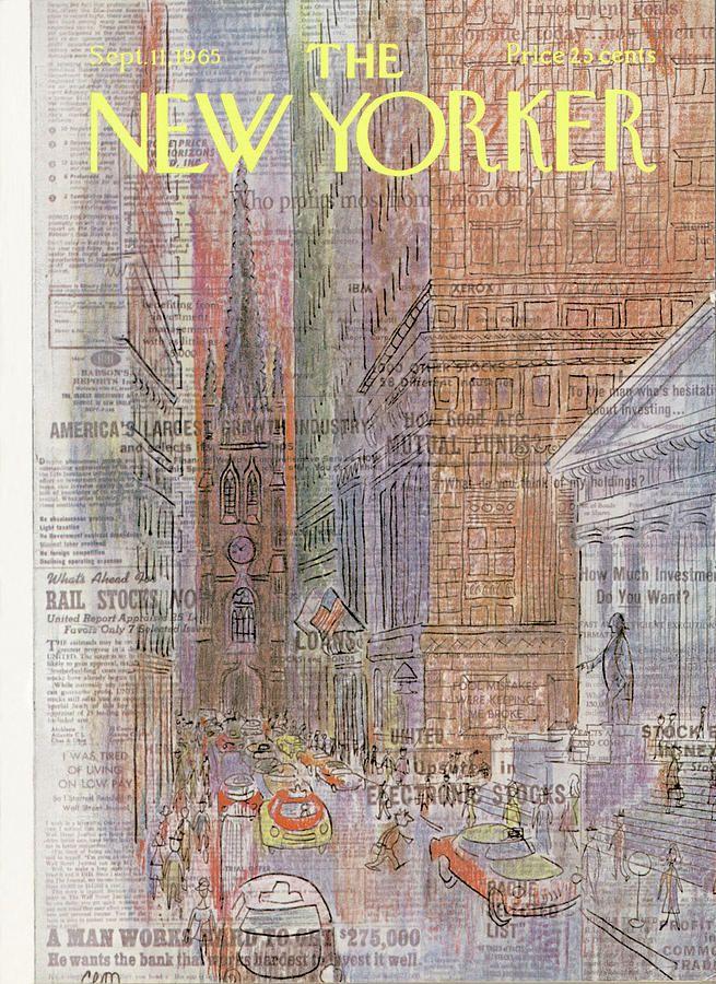 New Yorker September 11th, 1965 by Charles E Martin