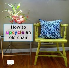 how to upcycle an old chair, how to, painted furniture