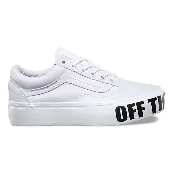 Old Skool Platform | Shop Shoes At Vans