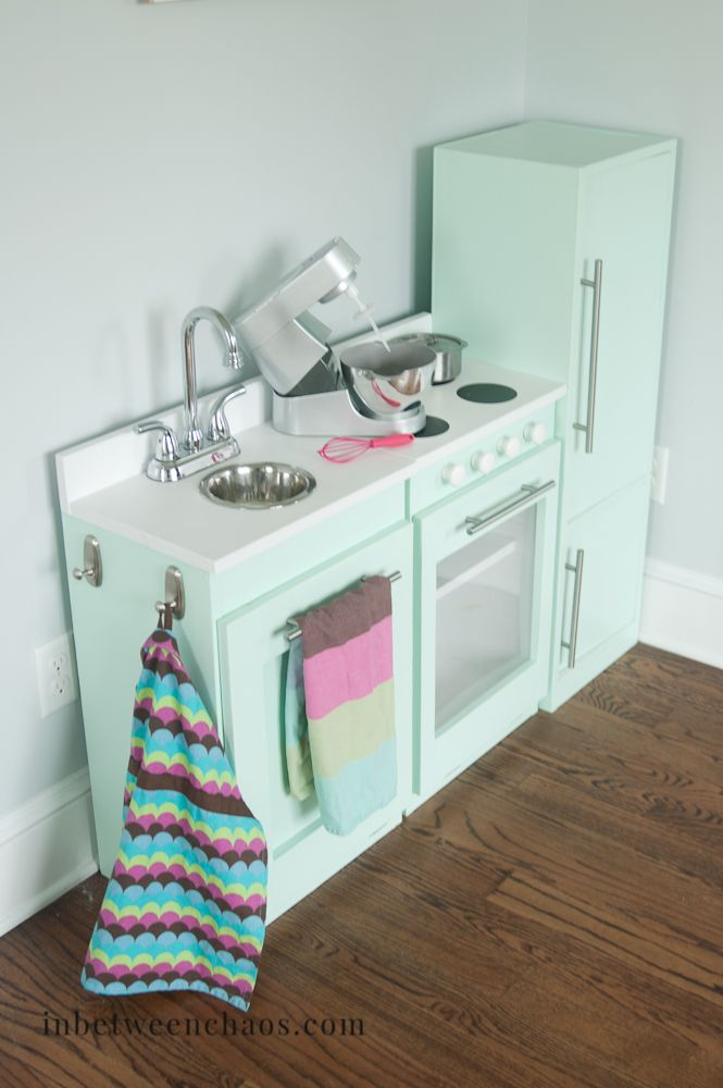 Kids Play Kitchen Diy Style With