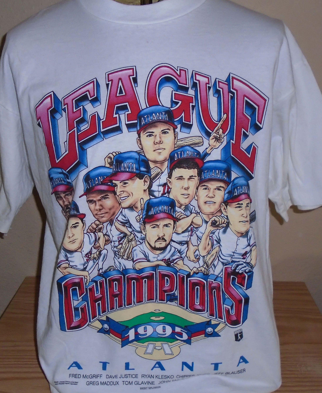90s Atlanta Braves Play Ball t-shirt Large