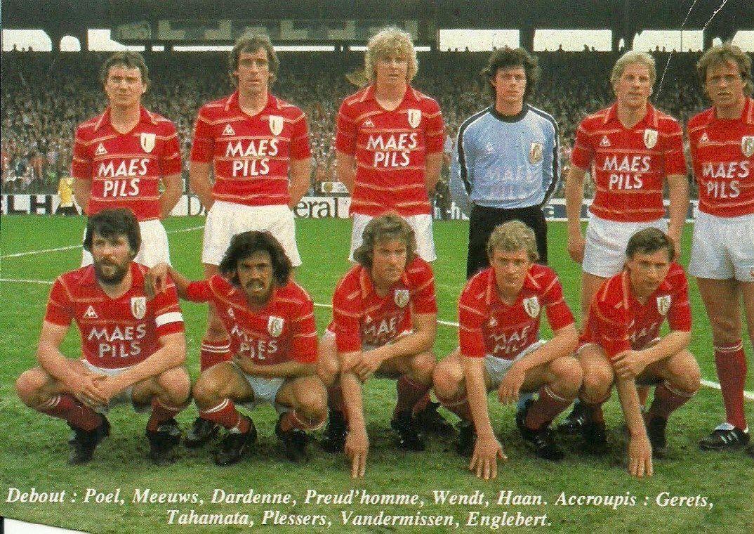 1983 Royal Standard de Li¨ge Football Michel Preud homme Eric