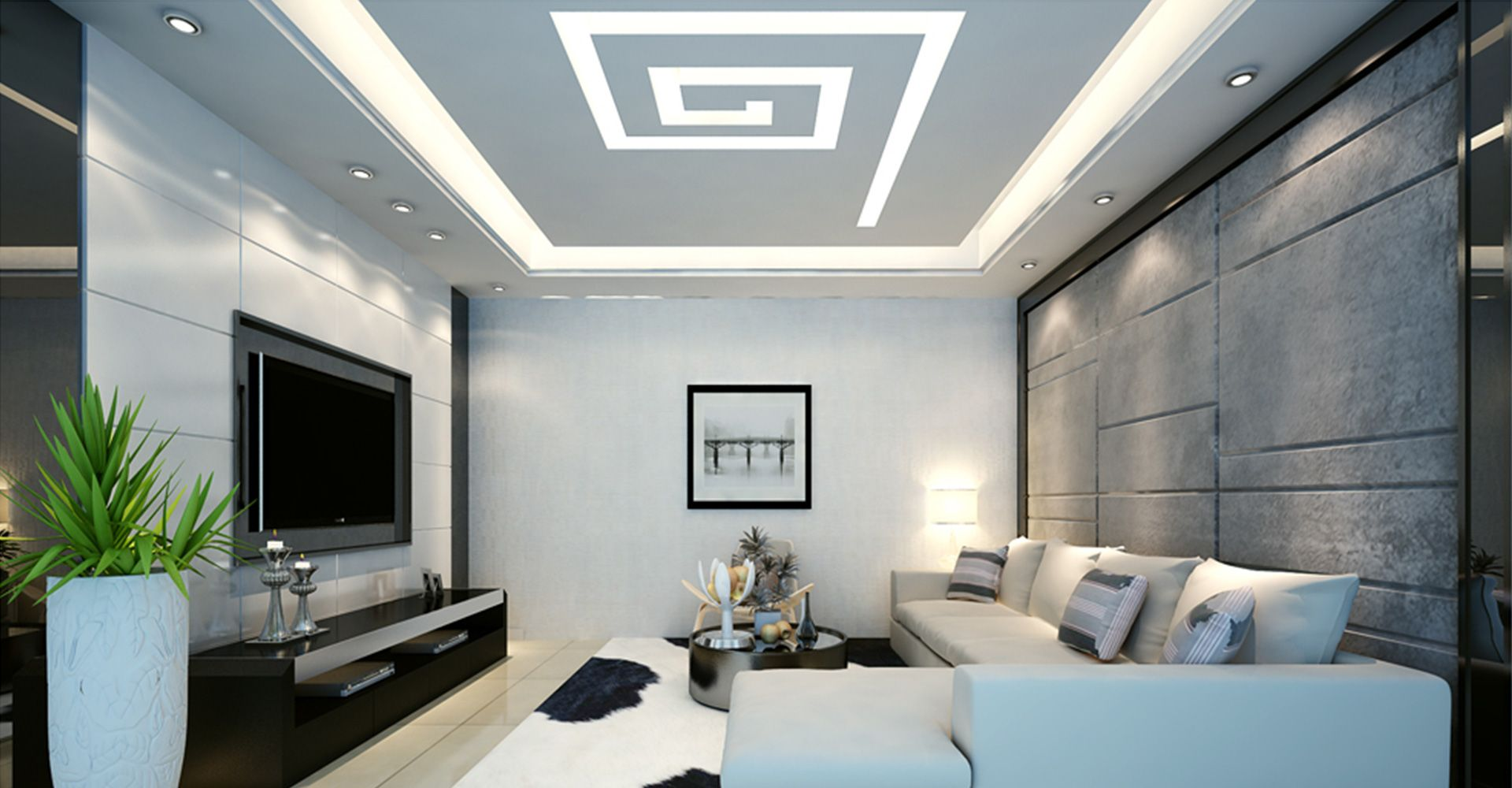Living Room Ceiling Designs Beauteous Amazing Living Room False Ceiling Designs For Your Beautiful Space Design Ideas