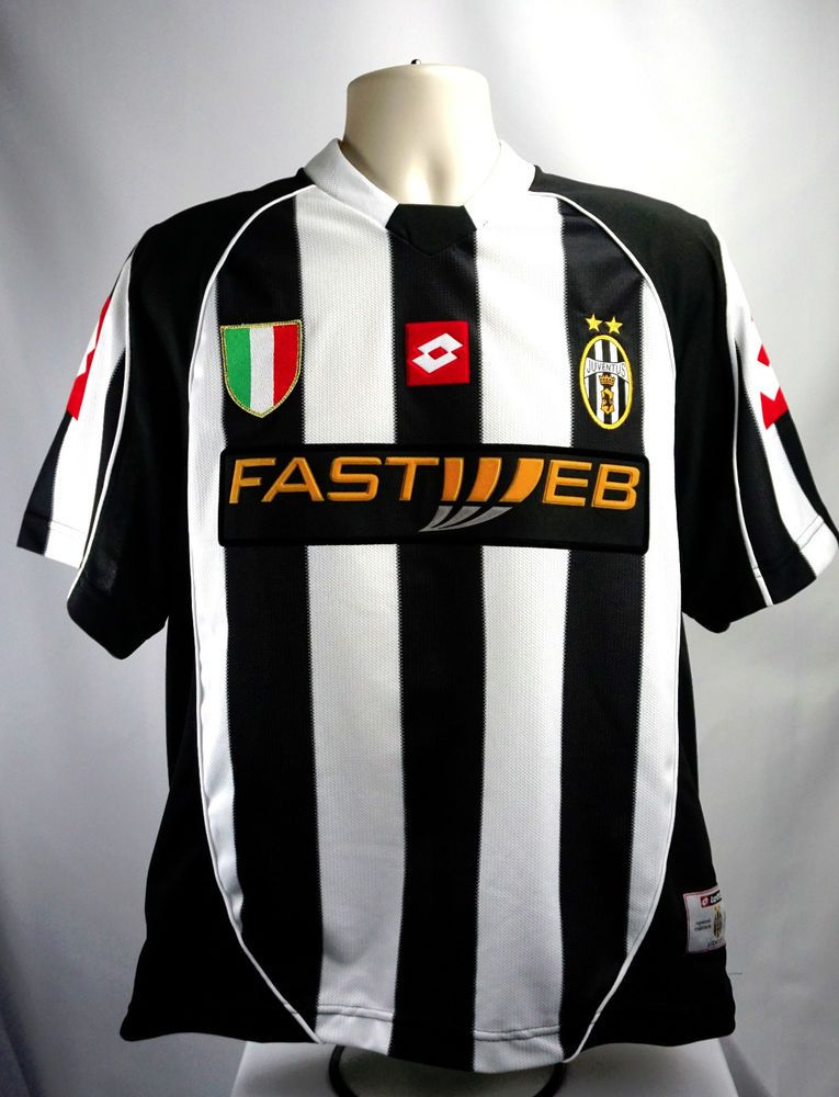 detailed look 65595 e1f84 JUVENTUS Maglia Juve 2002-03 Soccer Football JERSEY FASTWEB ...