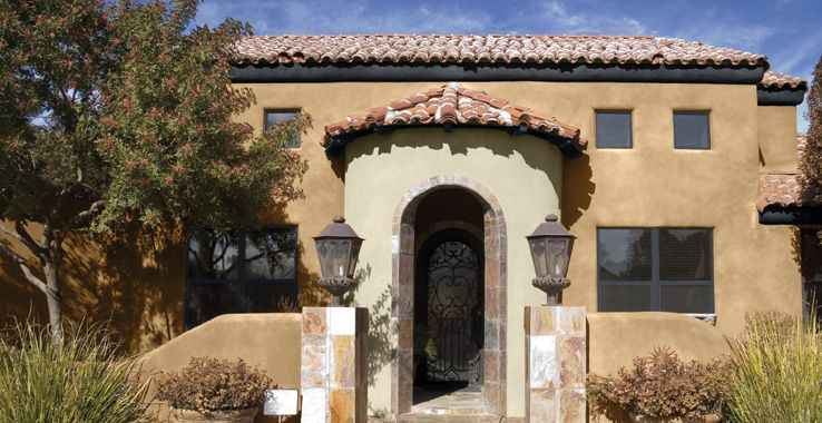 Residential Exterior Desert Southwest Style C O L O R Pinterest Southwest Style And