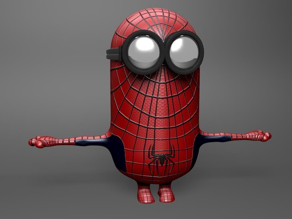 Hahahaha!! Spider minion, spider minion....