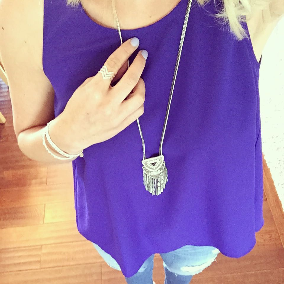 Alright Chiara pendant...you make wearing silver easy for me!! Crushing on the pairing of this necklace with our pave chevron ring!!! Easy way to look pulled together for dinner with the family after a long day! #stelladot #stelladotstyle #werehiring #aot