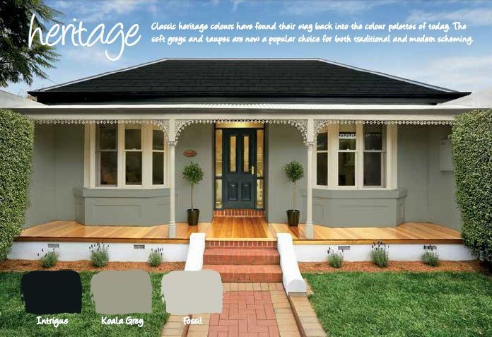 exterior paint colours weatherboard Google Search exterior