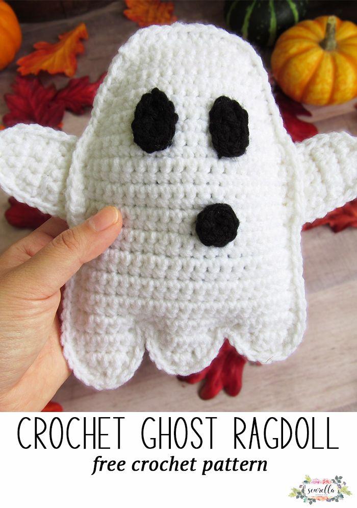 Crochet Ghost Ragdoll (with Maria