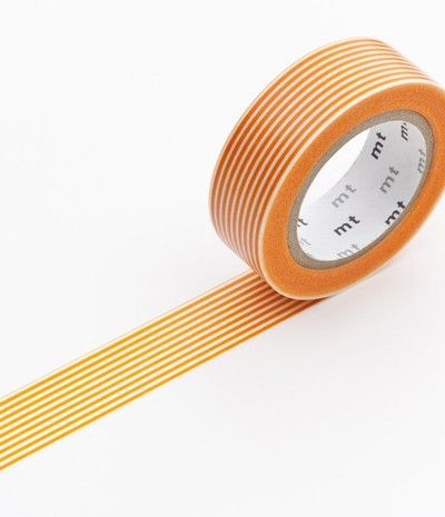 MT Washi Tape Orange Stripe - Party Shop :: Big Dreams