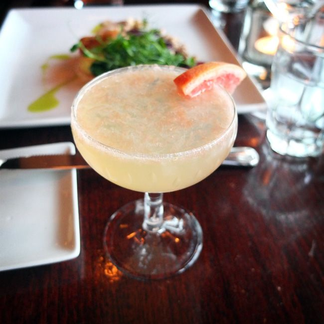 ~ Grapefruit Gimlet = Grapefruit Vodka, Fresh Lime Juice
