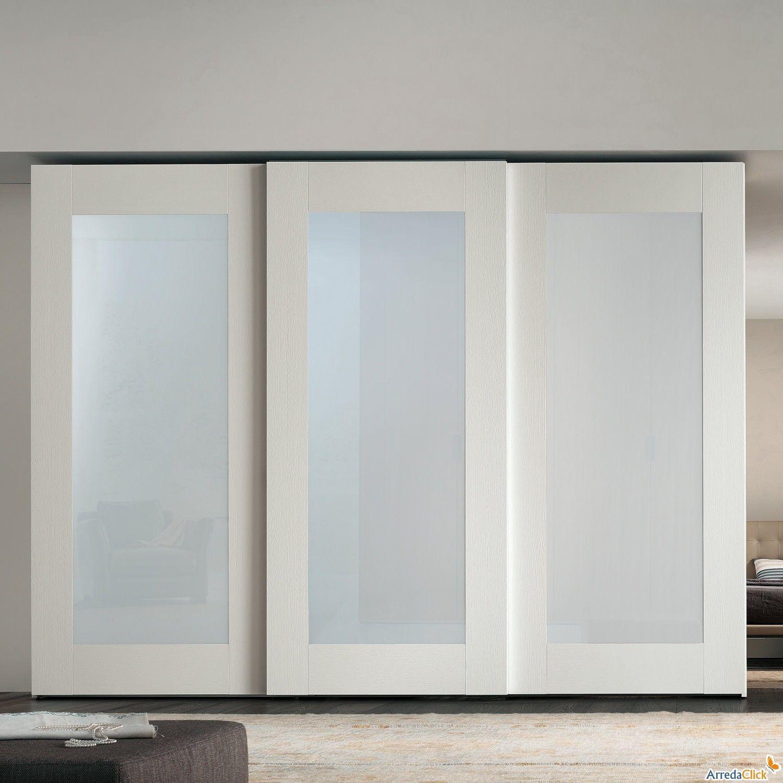 Perfect Idea Of White Sliding Closet Doors In 2020 Glass Closet Glass Closet Doors Sliding Glass Closet Doors