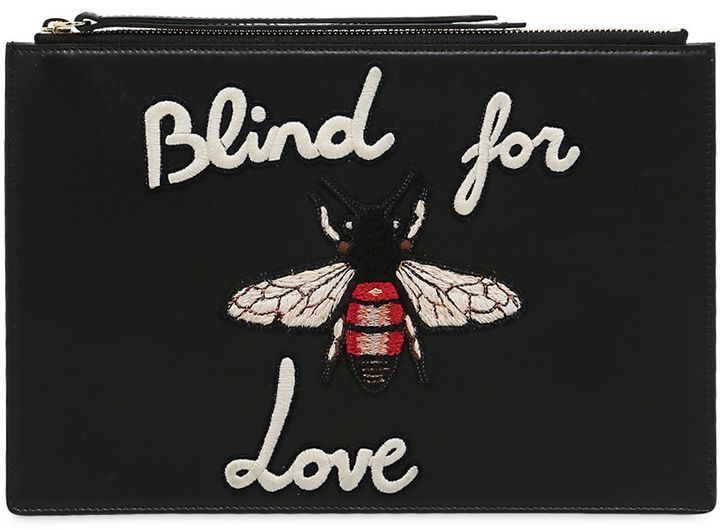 854850ce0bf0b Blind For Love Leather Pouch