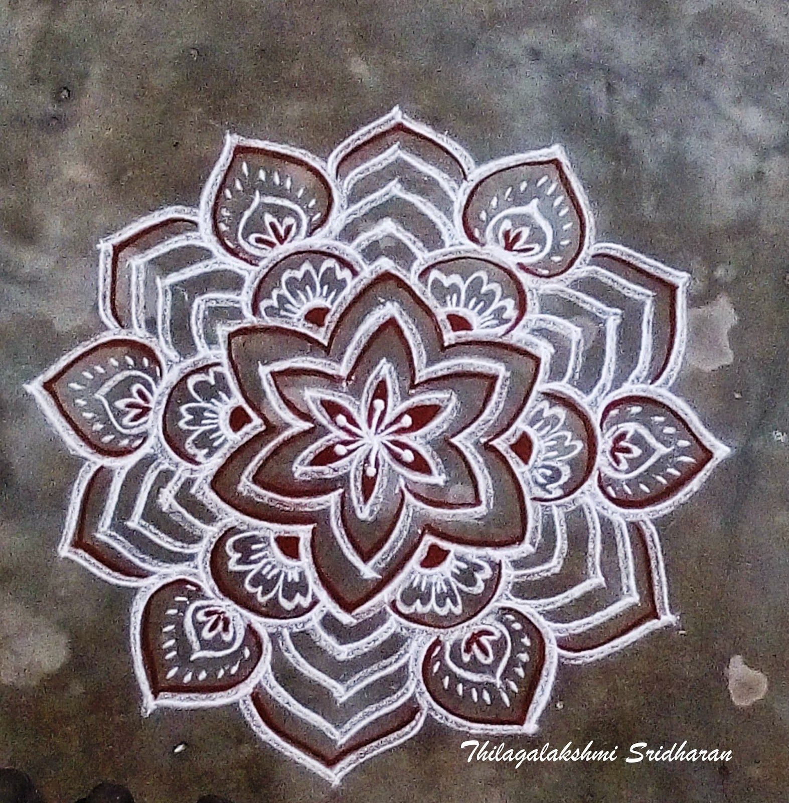 my creations freehand kolam freehand kolam pinterest rangoli