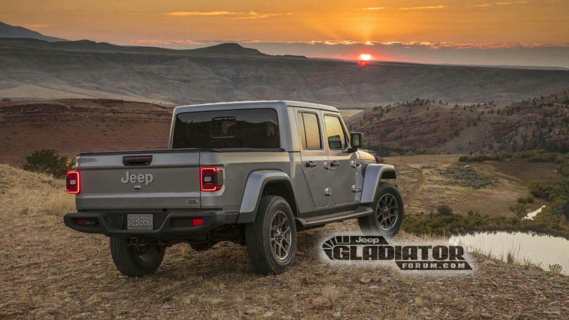 Jeep Gladiator '2019 Джип