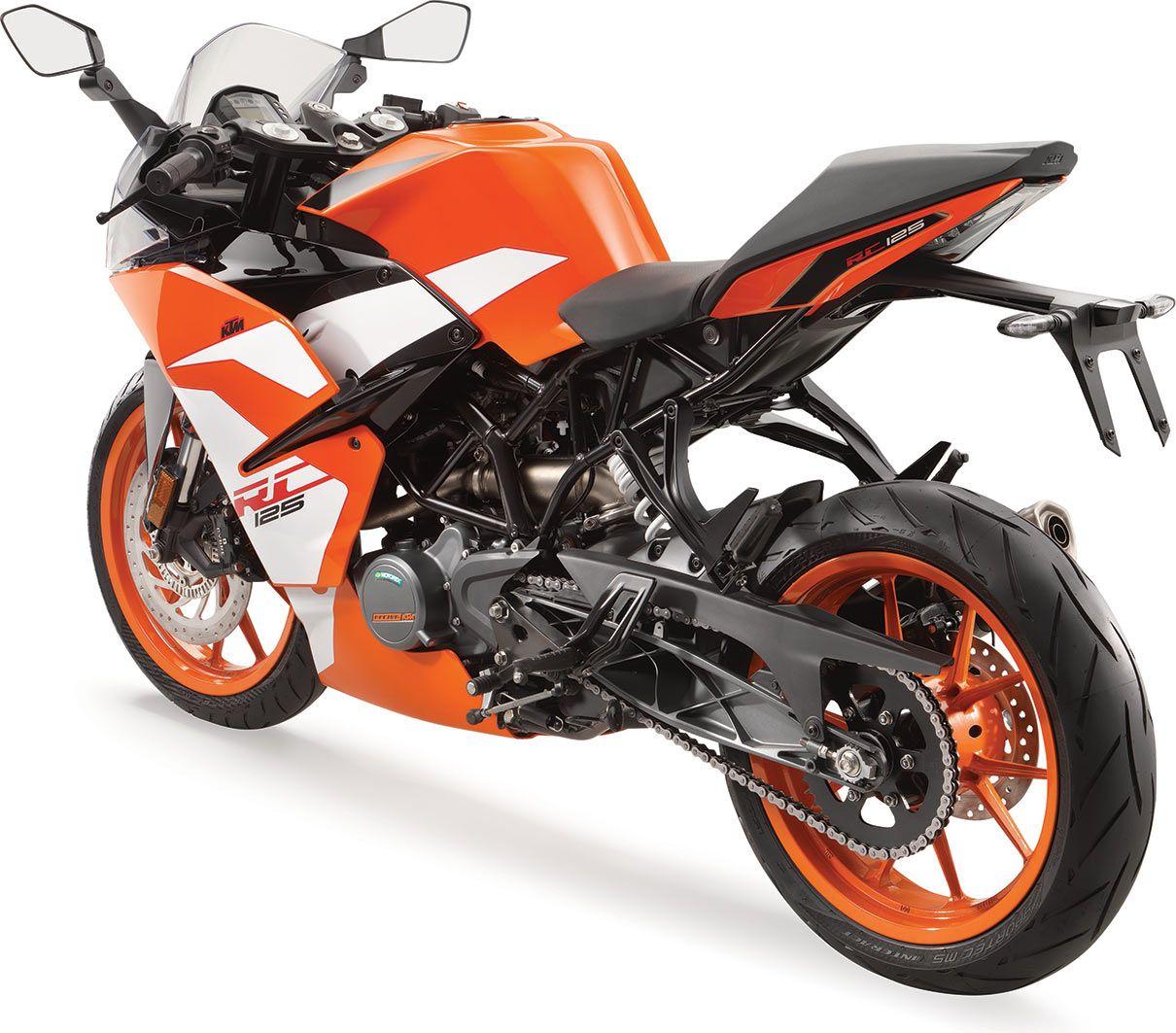 ktm rc 125   la moto sportive pour permis a1