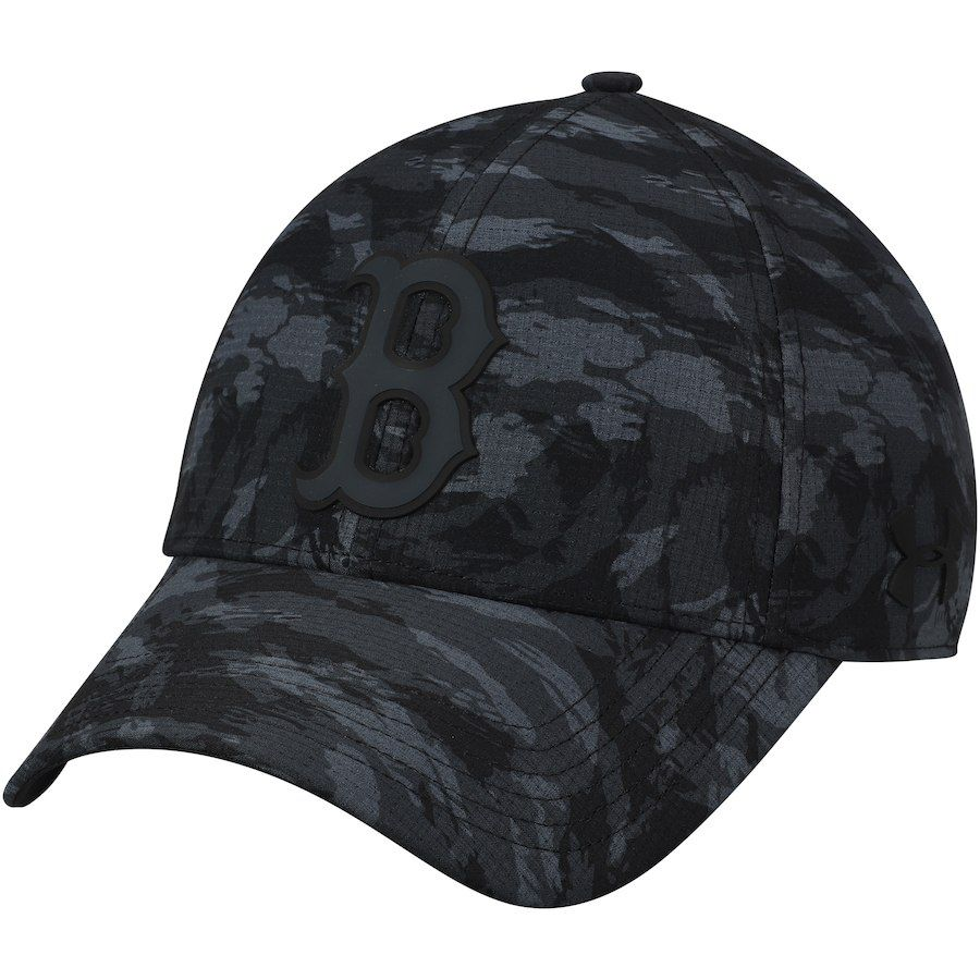 huge discount 5134c 8e97b Men s Boston Red Sox Under Armour Charcoal Tonal Camo Performance Adjustable  Hat, Your Price   29.99