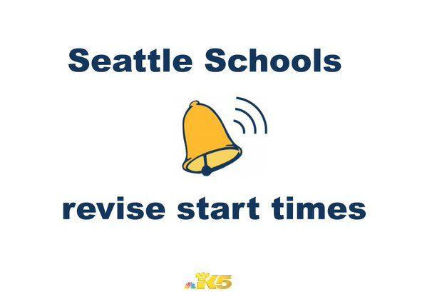 Sleepless No More In Seattle Later >> King 5 News On Sleep School Start Time Start School