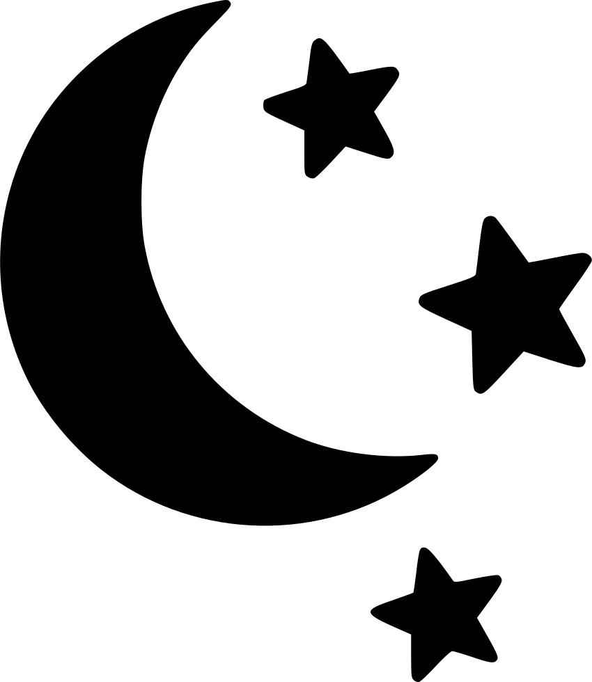 50++ Moon and stars clipart black and white ideas in 2021