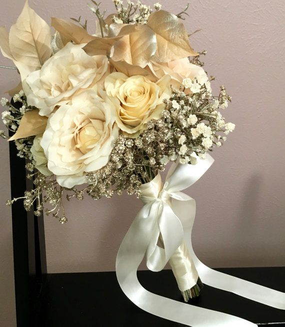 My wedding bouquet: All That Glitters is Gold Bouquet by ...