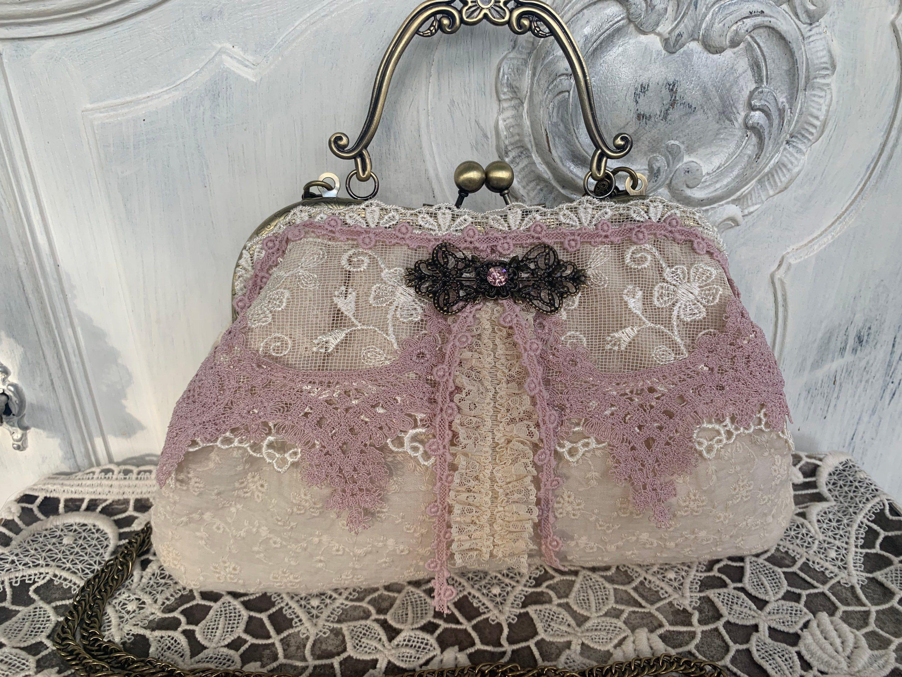Tasche Abendtasche Dirndl Tasche Bag Vintagebag Shabbybag Taschen In 2020 Abendtaschen Taschen Dirndl