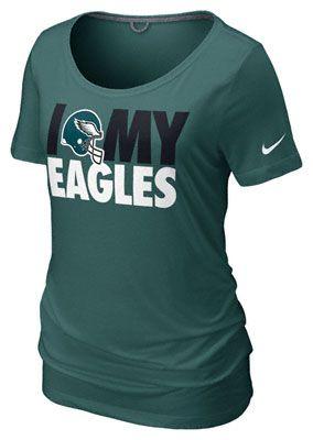 Nike Philadelphia Eagles Team Dedication Women's NFL Tee Shirt