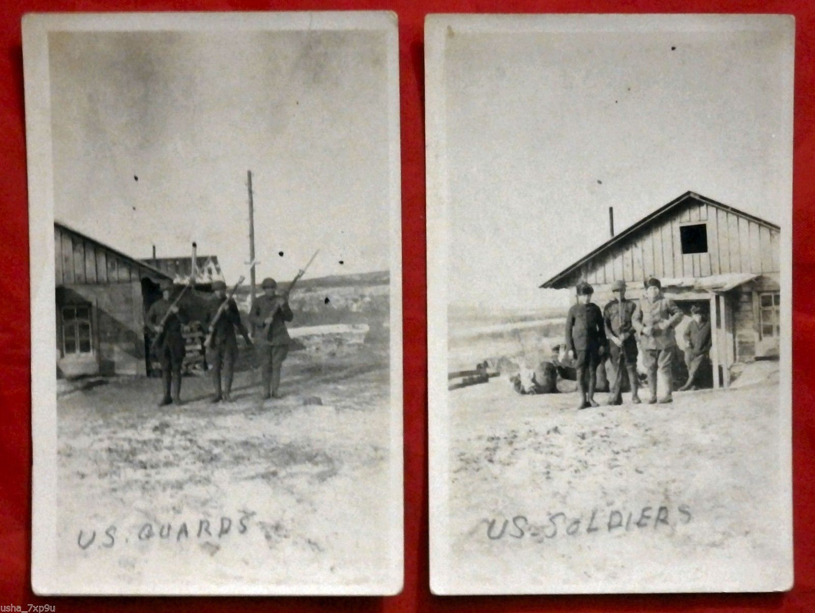 4CHARITY WWI RPPC Real Photo Postcards AEF Siberia Expeditionary Force Rifles | eBay