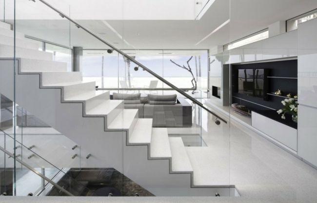 Barandillas creativas que destacan los diseos de las escaleras
