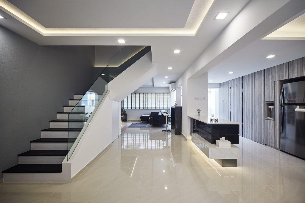 Best Hdb Maisonette Stairs Design Interior Design Singapore Interior Design Styles Renovations 640 x 480