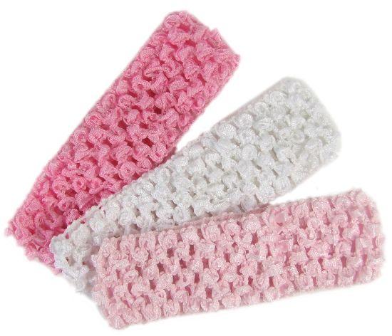 Crochet Headbands : Hip Girl Boutique - , Ribbons, Hair Bows, Hair ...
