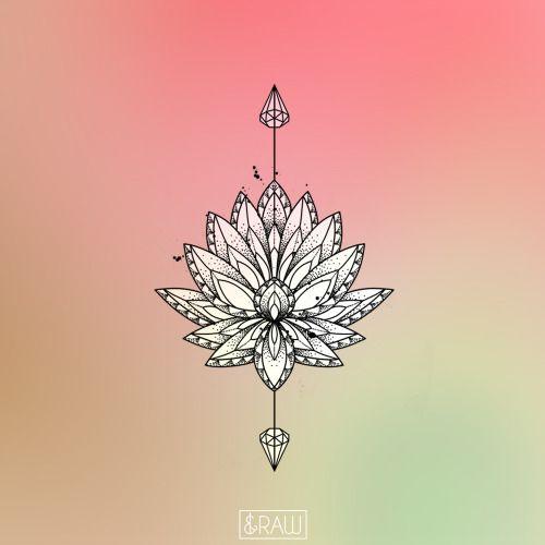 Lotus Flower Art Tumblr