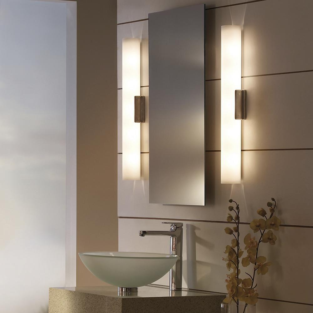 Pin By Design Milk On Our Favorite Picks From Lumens Contemporary Bathroom Lighting Bathroom Mirror Lights Bathroom Sconces