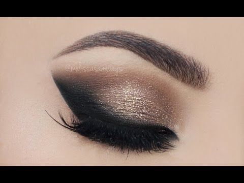 Neutral & Dramatic Smokey Eyes Makeup Tutorial! | Melissa ...
