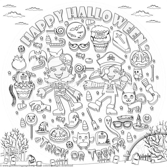 21 Happy Halloween Coloring Pages - GetColoringPages.org # ...