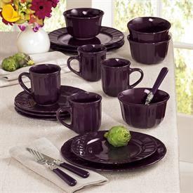 Purple Dinnerware Set Dinnerware Flatware Brylanehome With Images Purple Dinnerware Dinnerware Set Dinnerware