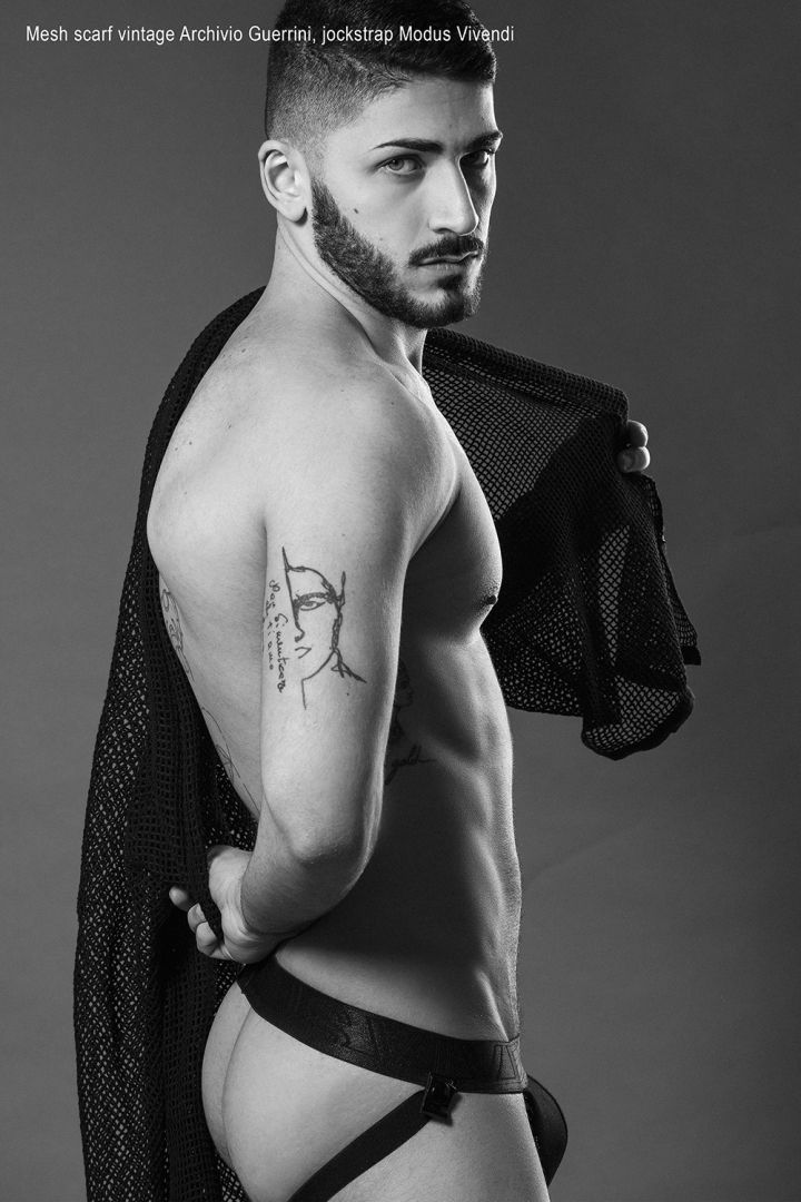 image Model in underwear men gay suck dick and