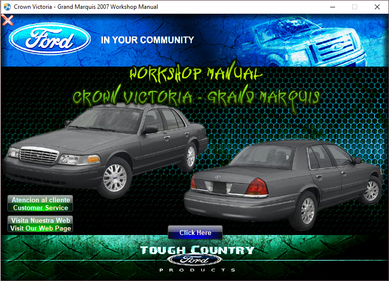 Ford Crown Victoria Grand Marquis 2007 Manual De Taller Y Reparacion Victoria Ford Taller