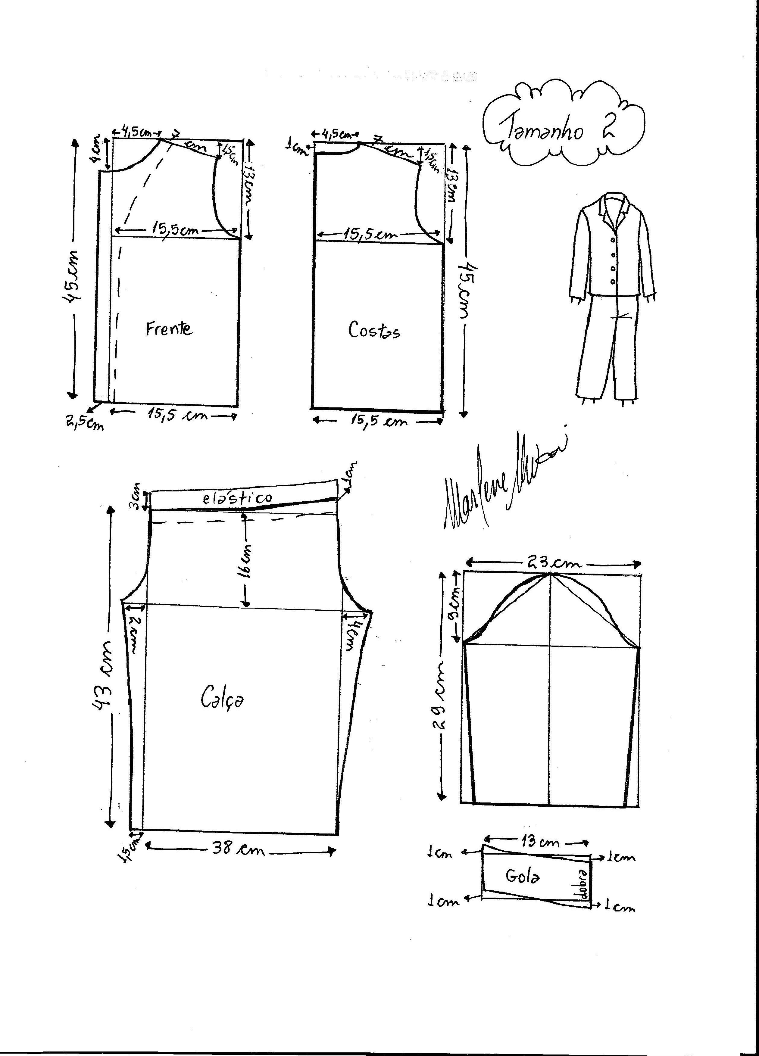 Pin de Maria Ramirez de Lozano en Costura | Pinterest | Sewing ...