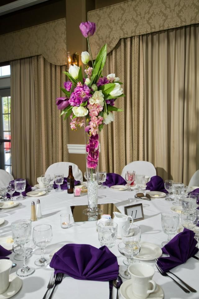 For sale~ Real Touch Flower Wedding Centerpieces. -Tall ...