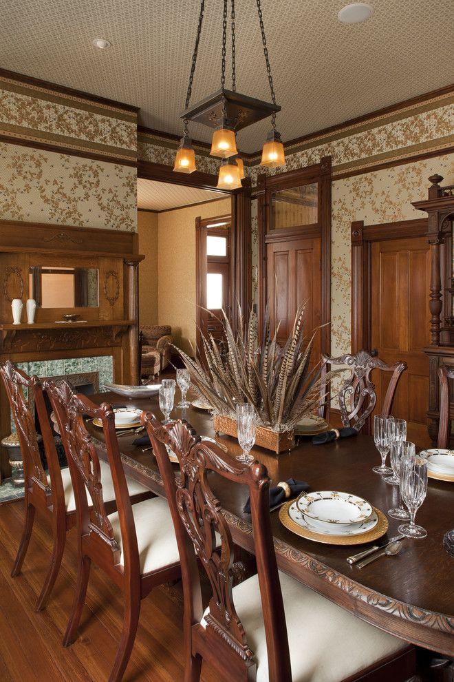 Austin Texas Residence - traditional - dining room - austin - Volz & Associates, Inc.