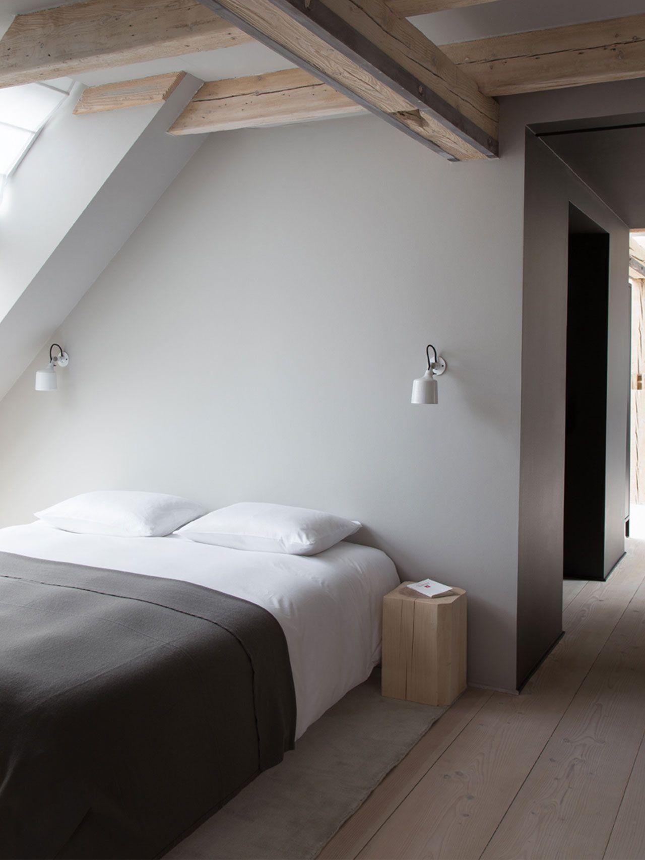 Vipp loft | vipp.com | Bed Cover | Pinterest | Attic spaces, Attic ...