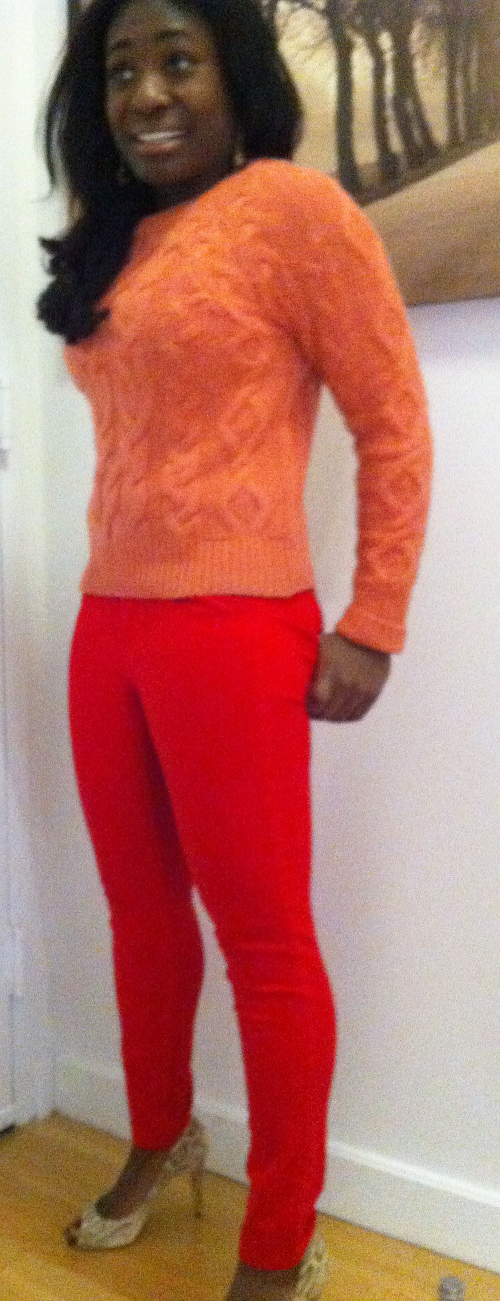 Bright sweaters r perfect 4 spring days & nights that r still a bit chilly #styletip