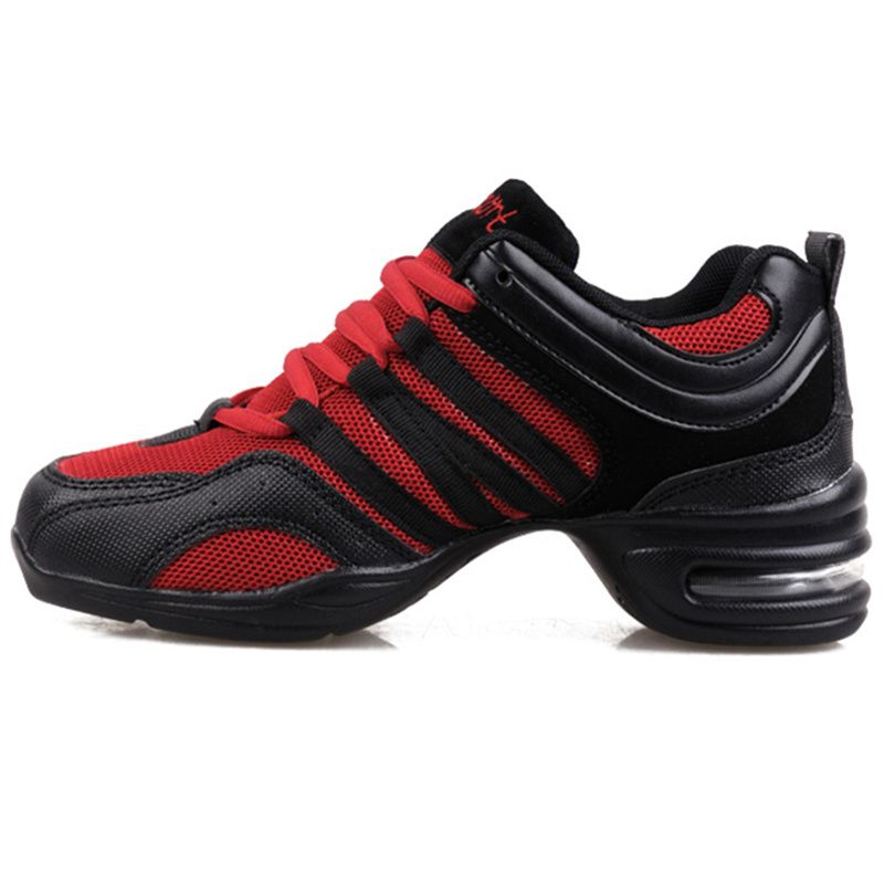 Women/'s Breathable Sneakers Modern Jazz Hip Hop Dance Shoes Running Trainers New